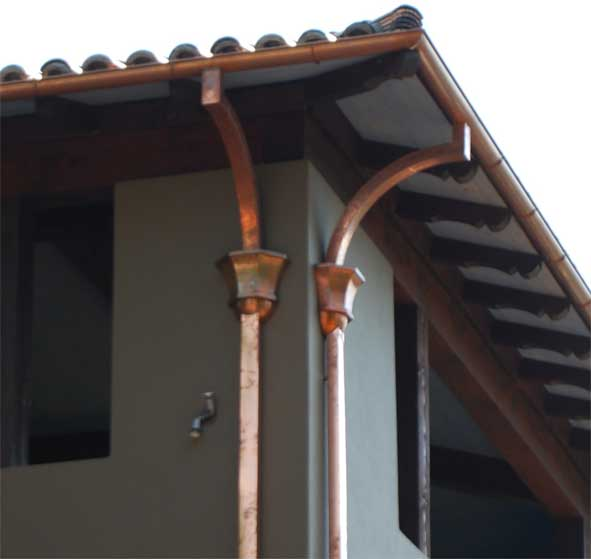 Metal Gutter Clay Tile Roofing Metal Roofing Metal