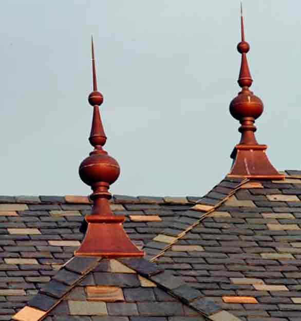 Architectural Sheetmetal Clay Tile Roofing Metal